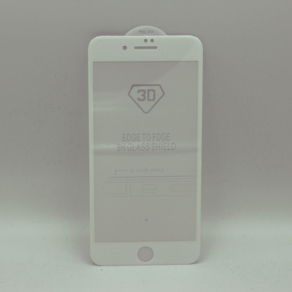 3D Fit Anti Blue Light Tempered Glass Screen Protector for iPhone 7/8 Plus White Version