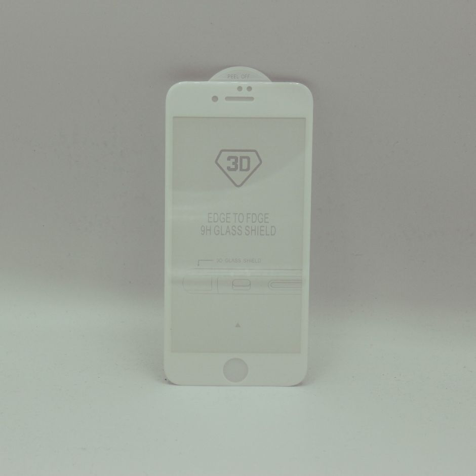 3D Fit Anti Blue Light Tempered Glass Screen Protector for iPhone 7/8 White Version