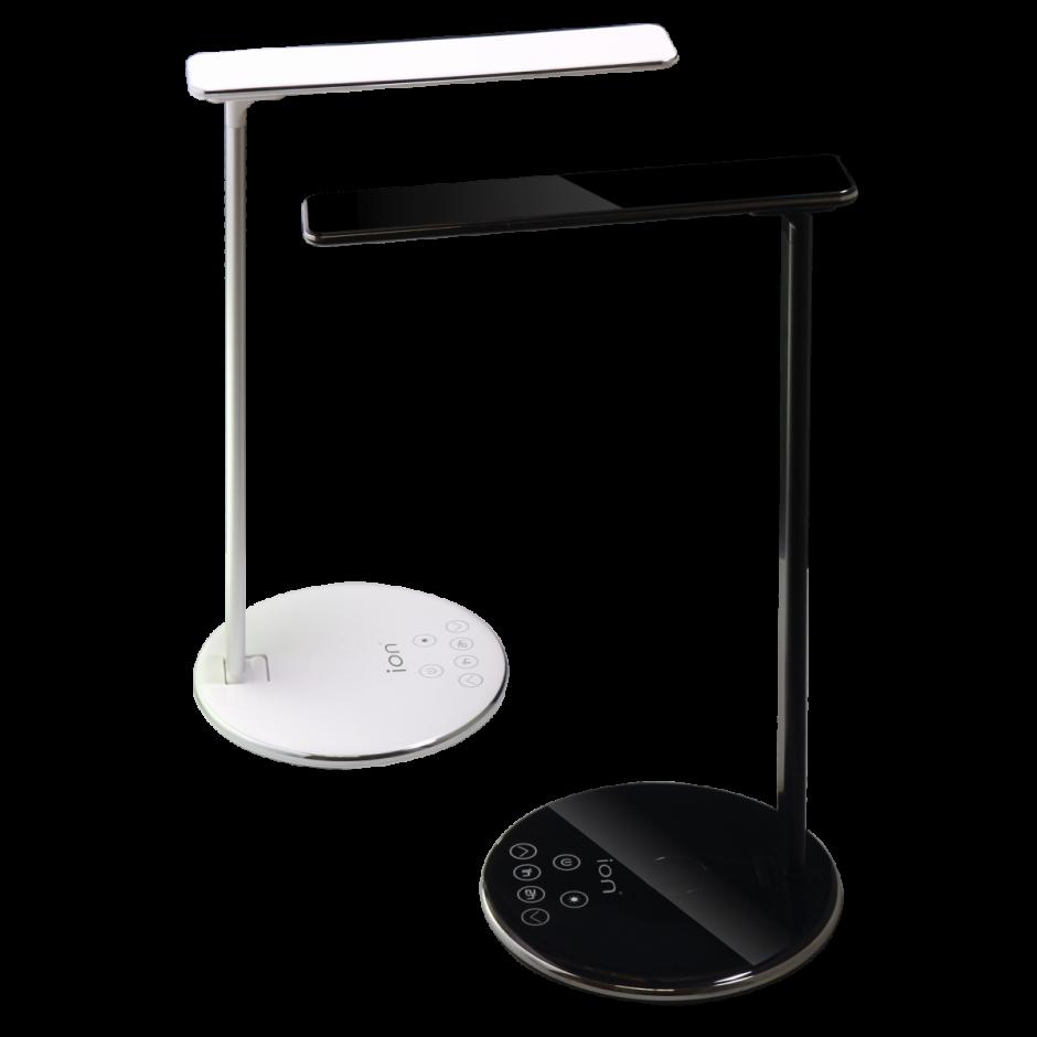 Qi Wireless Fast Charge USB LED Desk Lamp